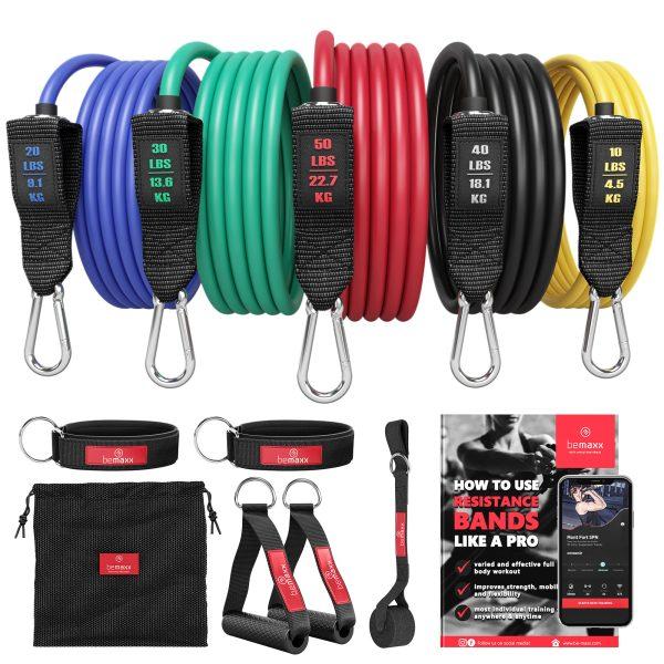 rouge moyen 200 cm 34045 Royalbeach Trainingsband widerstandsband extenseurs NOUVEAU *
