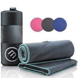Mikrofaser Handtuch 2er Set: Schnelltrocknend, Kompakt, Leicht | Microfaser Microfiber Towel