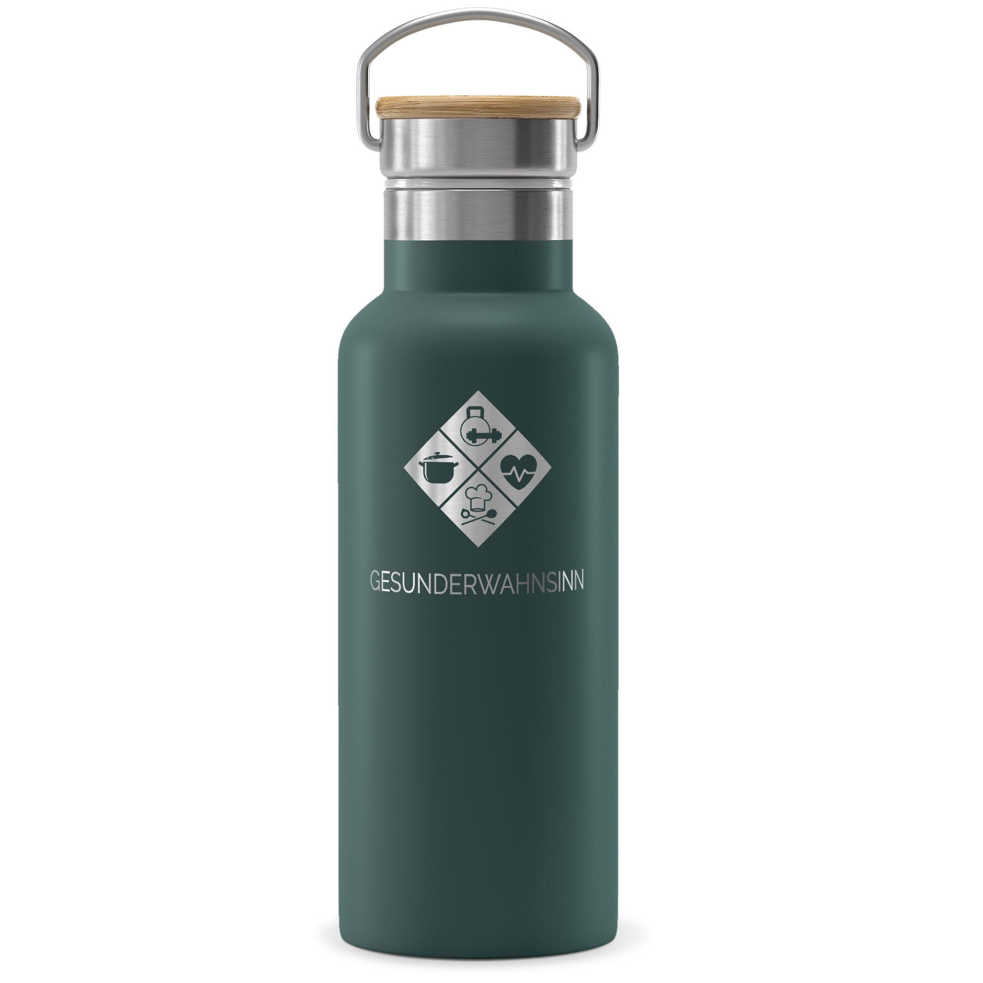 Co Branding - Trinkflasche Edelstahl ACTIVE FLASK